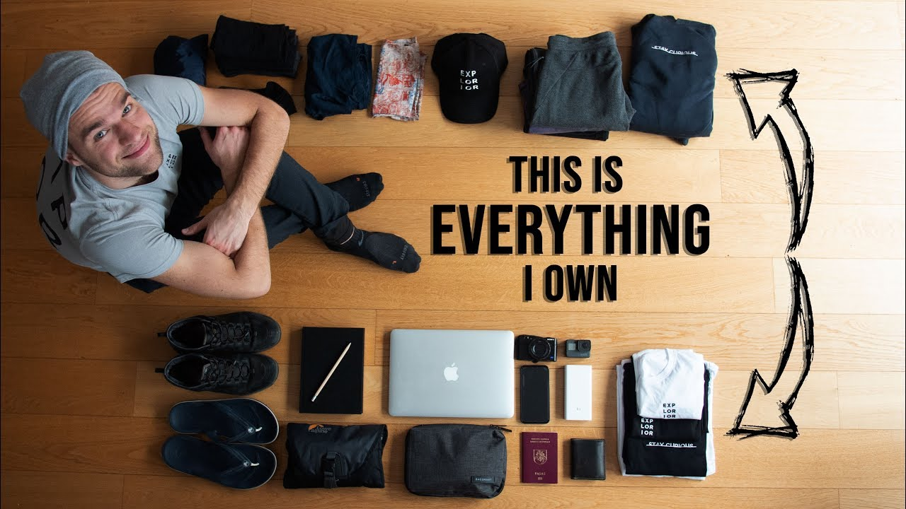 Minimalist Packing for 5 YEARS OF TRAVELING