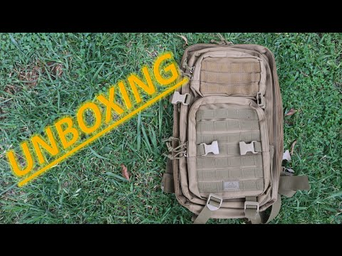 Red Rock Outdoor Gear Assault Pack | Unboxing | Review |