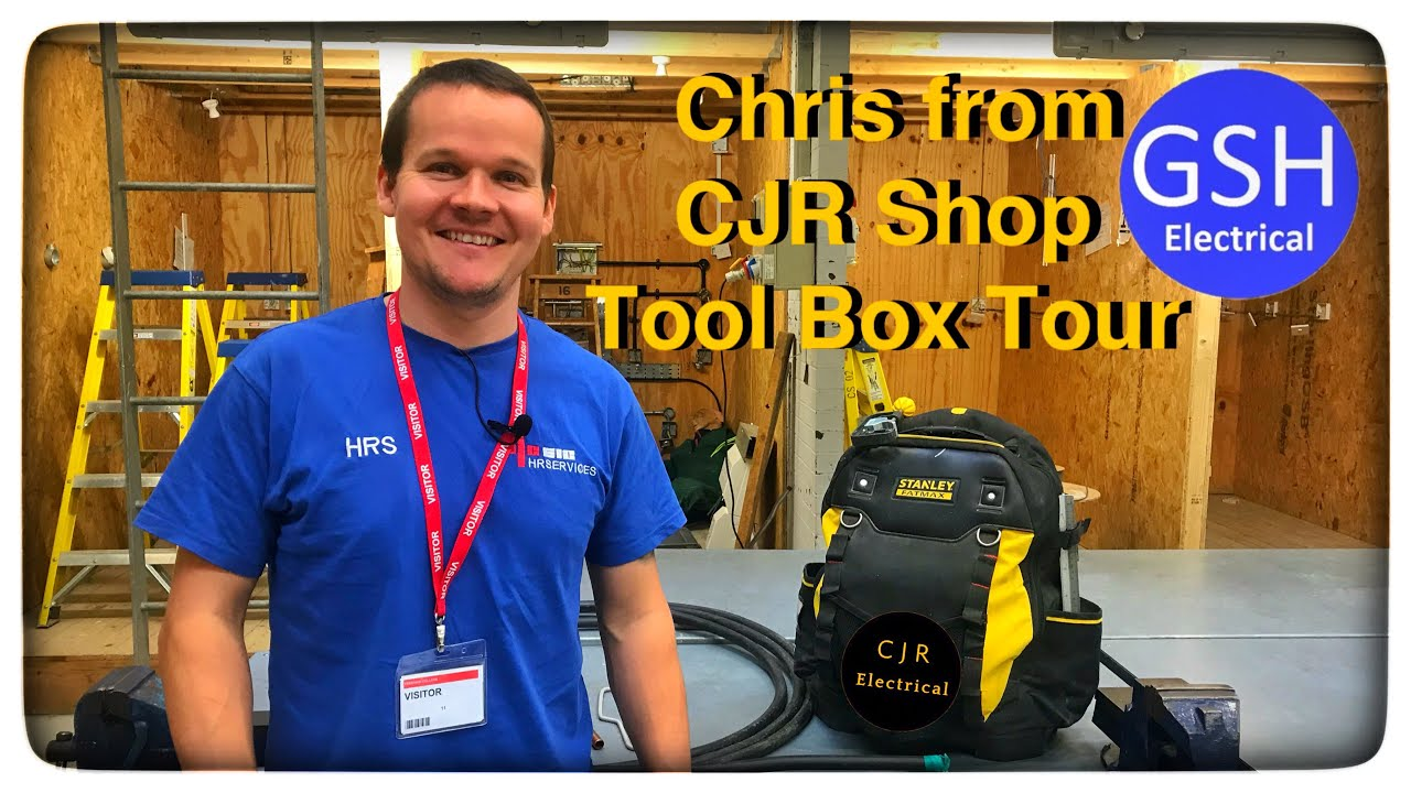What's Inside an Electricians Tool Box? Tool Box Tour With Chris from CJR Electrical (CJR Shop)