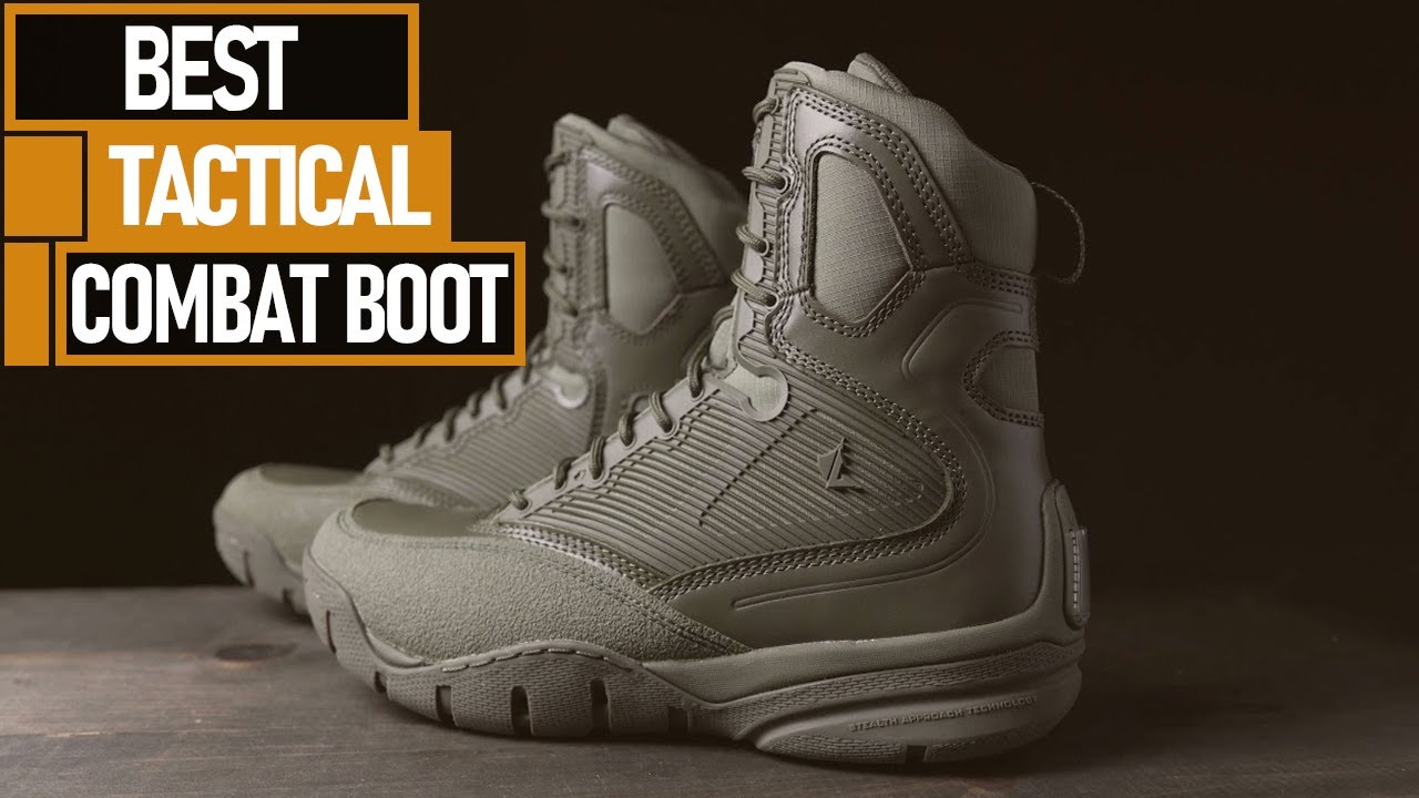 7 Best Combat Boots For Tactical & Military in 2021