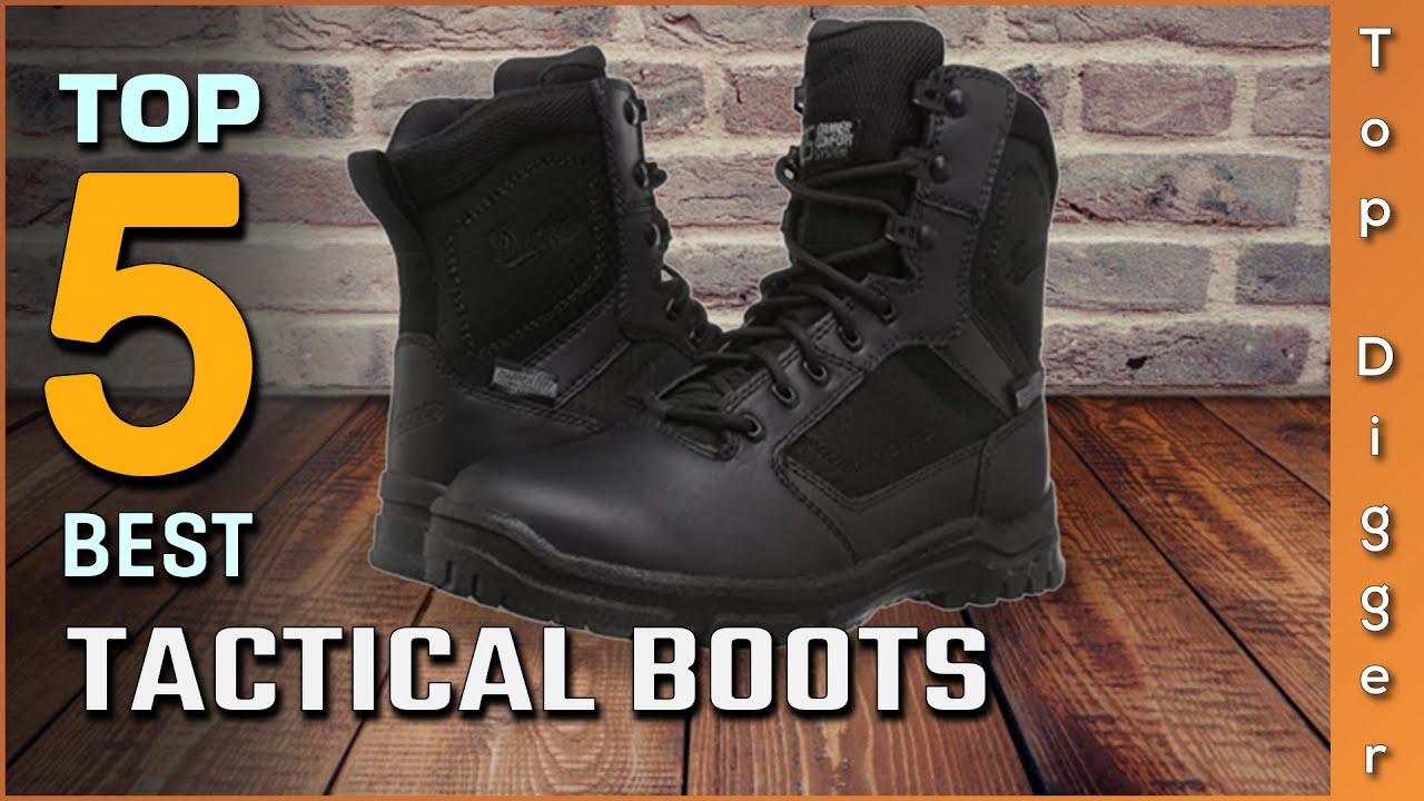 Top 5 Best Tactical Boots Review in 2021