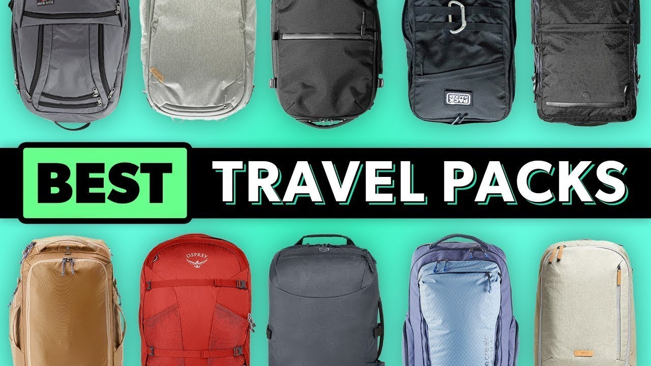 Top 10 Best Travel Backpacks for One Bag Carry-on Travel