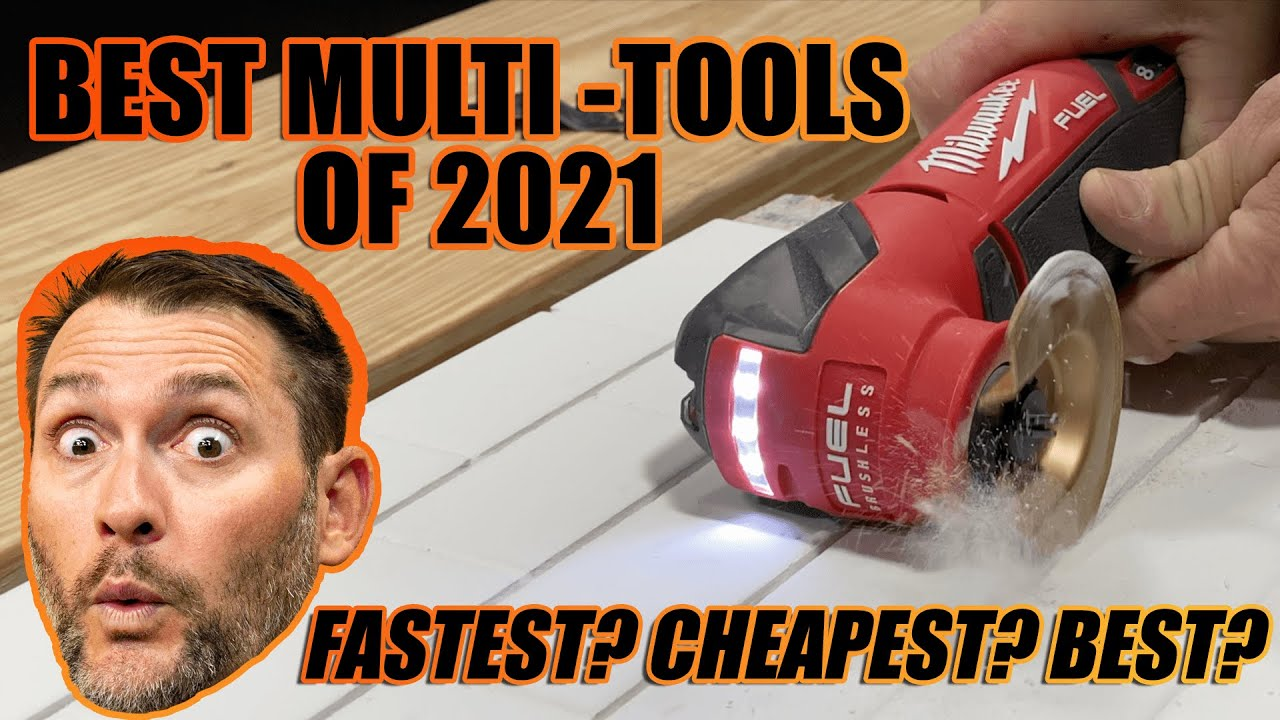 Best Oscillating Tools of 2021 - 10+ Pro Multitool Models Tested