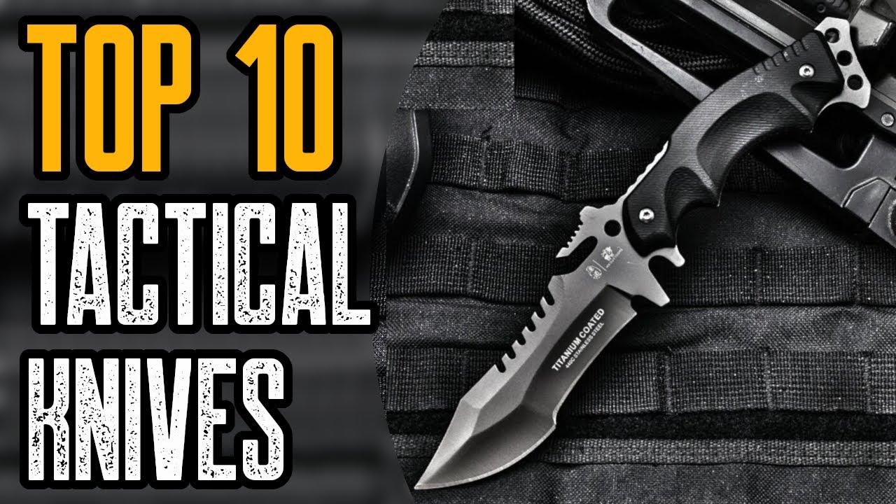 TOP 10 BEST TACTICAL FOLDING KNIVES ON AMAZON 2021