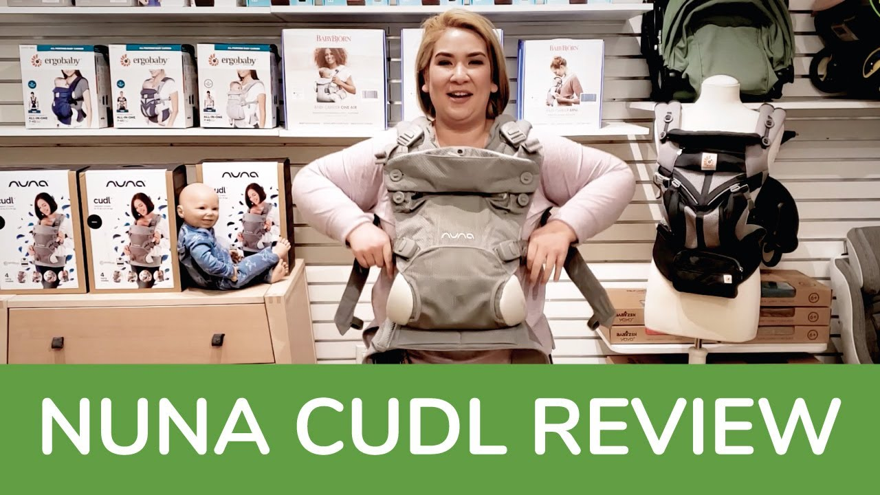 Nuna Cudl Baby Carrier   Nuna Cudl Full Review   Magic Beans   Best Baby Carriers