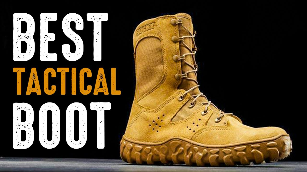 5 Best Tactical Boot for Military & Combat