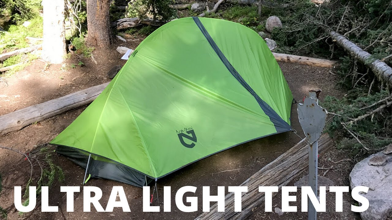 Top 7: Best Ultralight Backpacking Tents 2021