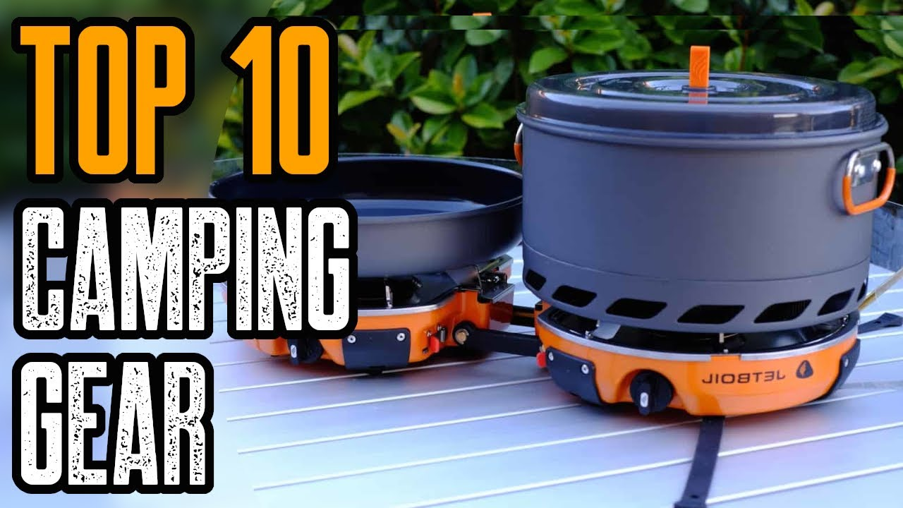 TOP 10 COOL CAMPING GEAR YOU MUST OWN 2021