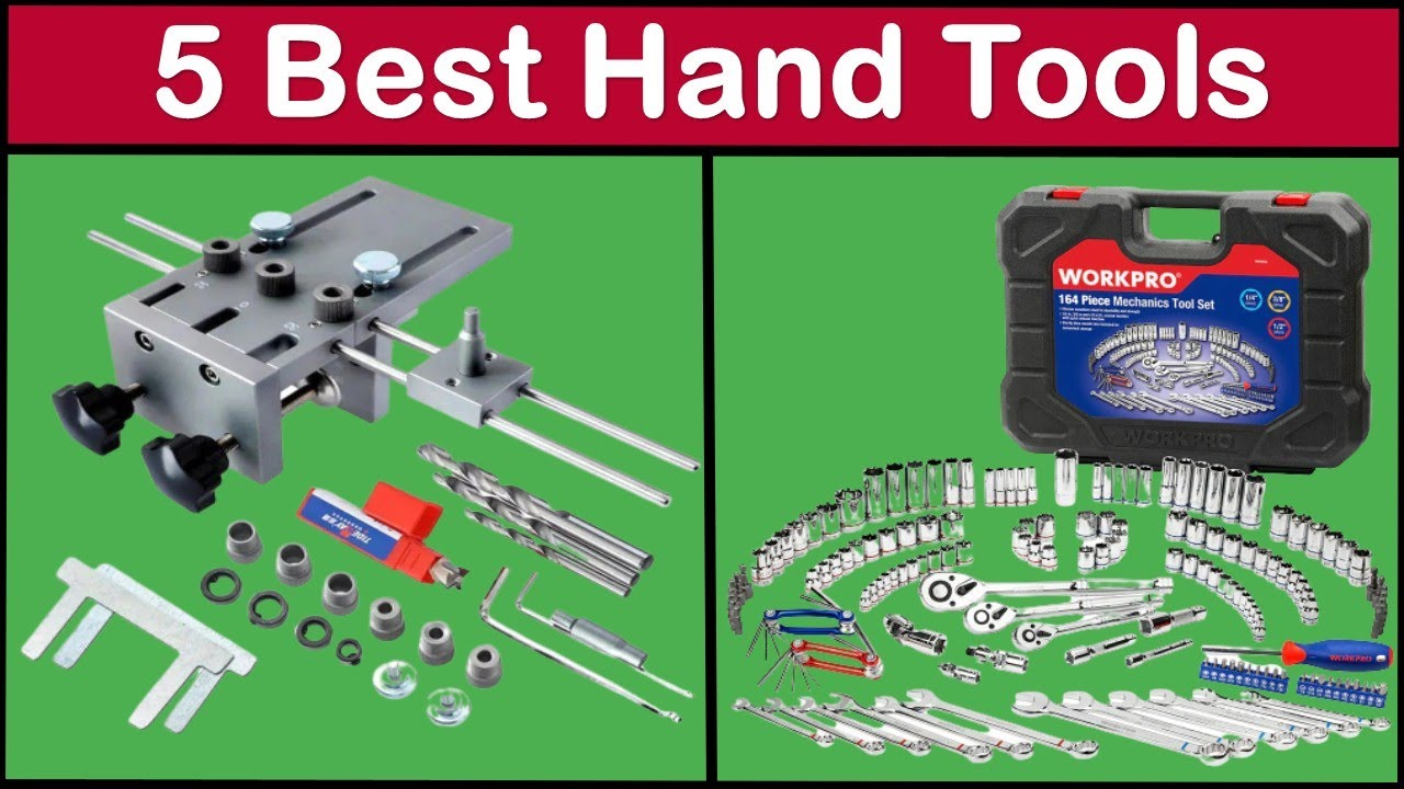 Top 5 Hand Tools Review | Best Hand Tools 2021