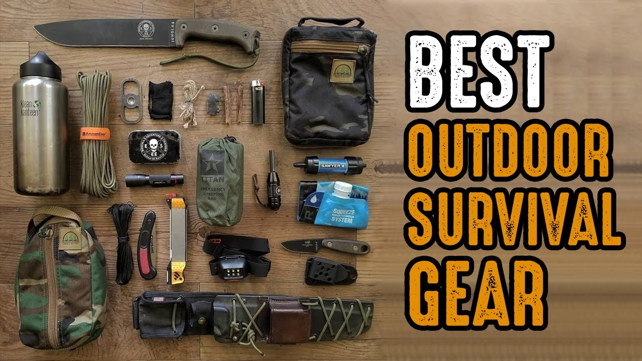 7 Must Have Outdoor Survival Gear on Amazon