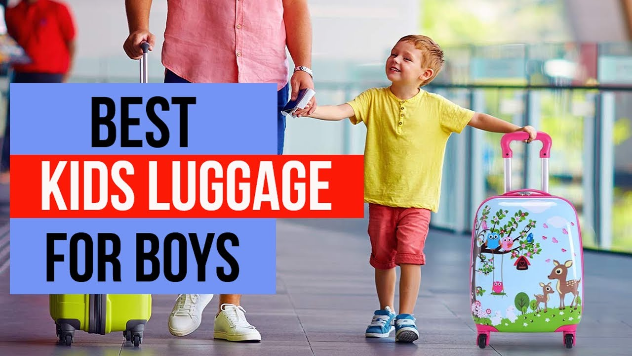 Best Kids Luggage For Boys 2021 🧳 Carry-on Suitcase, Travel Luggage, Trolley - Reviews & Tips
