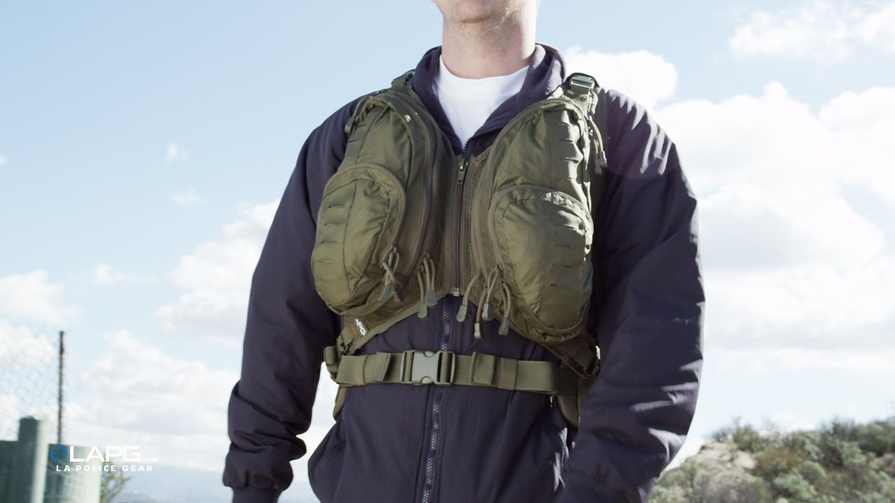 LA Police Gear - Tactical Chest Pack Attachment