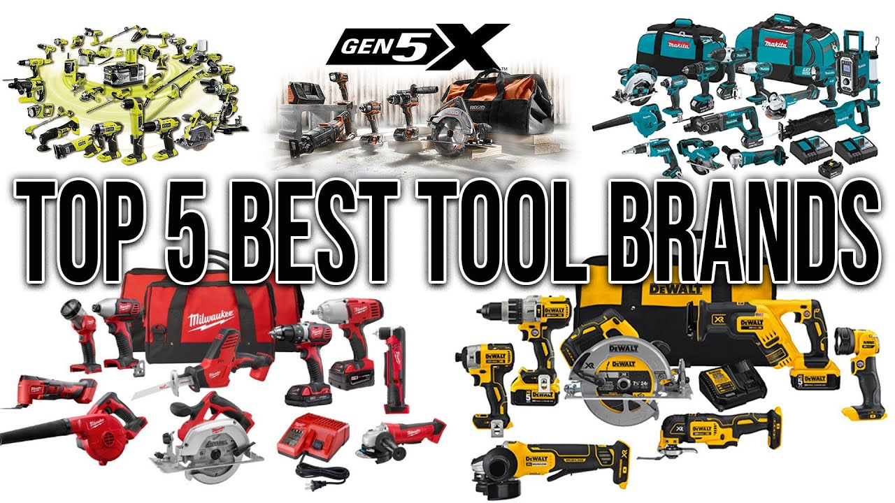 TOP 5 POWER TOOL BRANDS IN THE WORLD